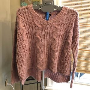 Blush color sweetheart of a sweater